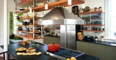 Дизайн кухонной столешницы из переработанного катона от Actual-Size Architecture