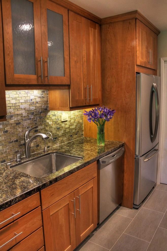 Оригинальный дизайн кухонного фартука от ds design studio