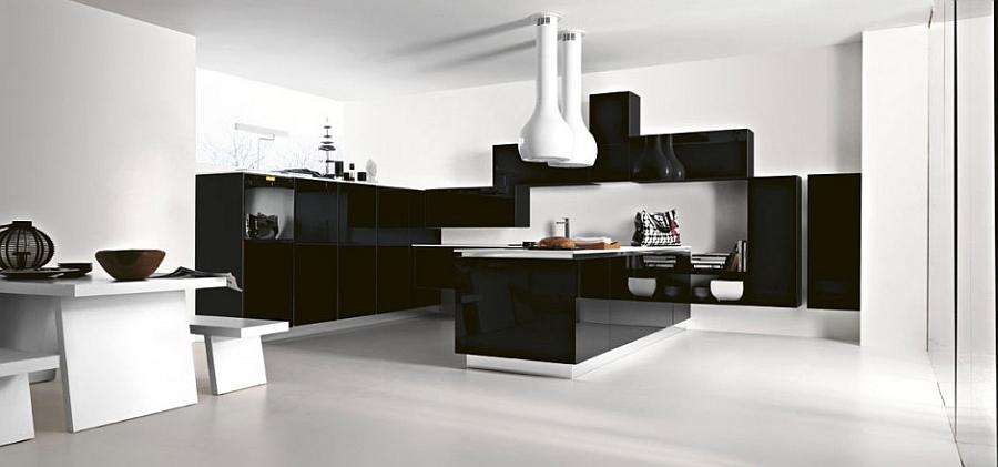 Потрясающий дизайн кухни New Arial от Cesar