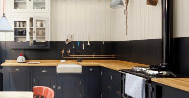 Черный цвет в дизайне кухни: современный стиль