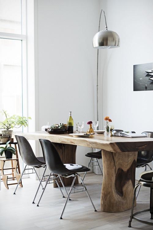 Чёрно-белая кухня в интерьере: датский модерн - классический, гибкий, экспрессивный, природный