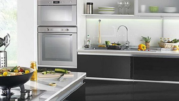 Color kitchen cabinet home decorating trends