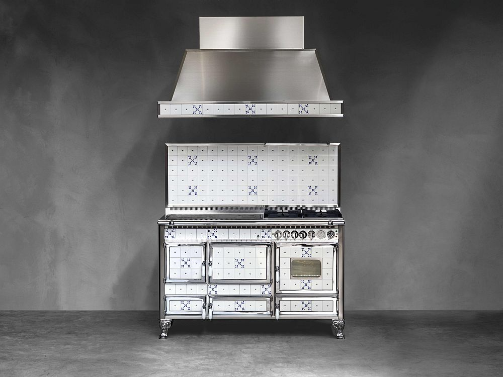 Винтажный дизайн дровяной печи Borgo Antico Collection