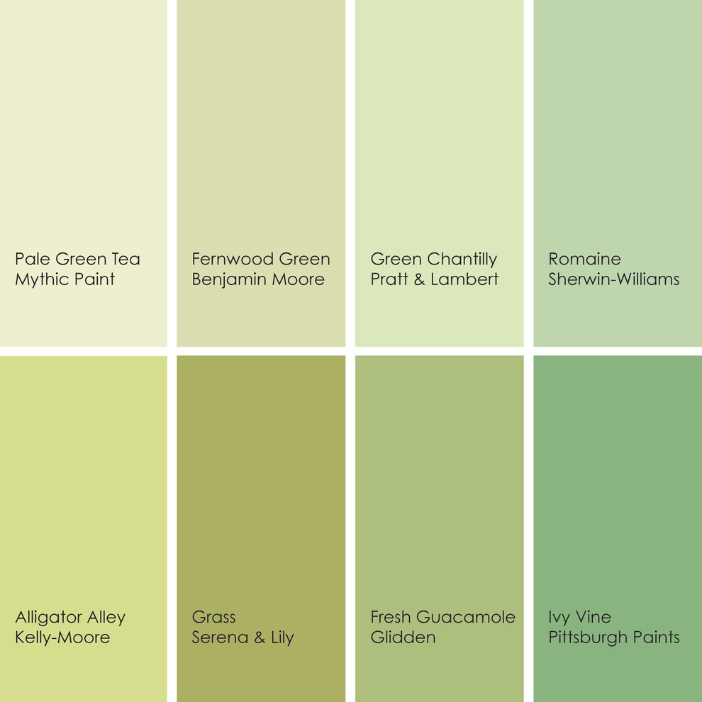 Зеленый цвет в интерьере кухни: модные оттенки