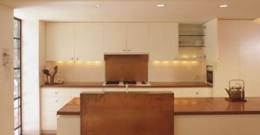 Дизайн медной кухонной столешницы