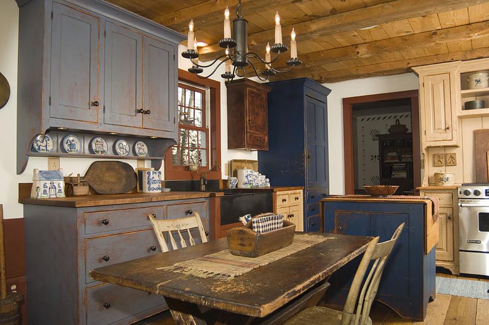 Стиль деревенский в интерьере кухни фото