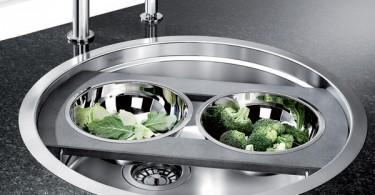 Креативный дизайн кухонной раковины от Biancoronis