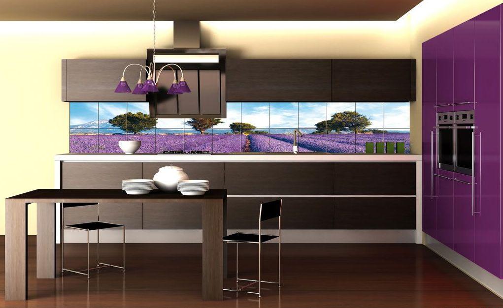 Оригинальное оформление интерьера кухни в стиле модерн