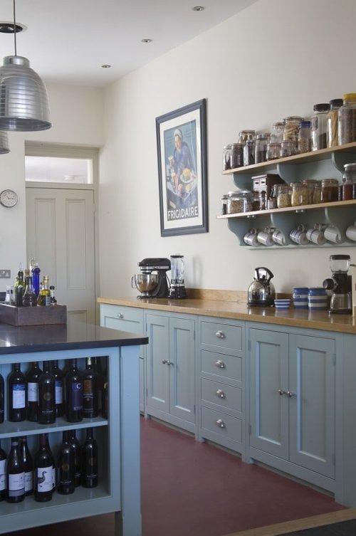 Восхитительный дизайн кухни в стиле кантри