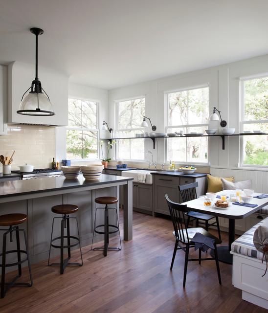 Деревенский стиль в интерьере кухни - необычный вариант. Фото 4