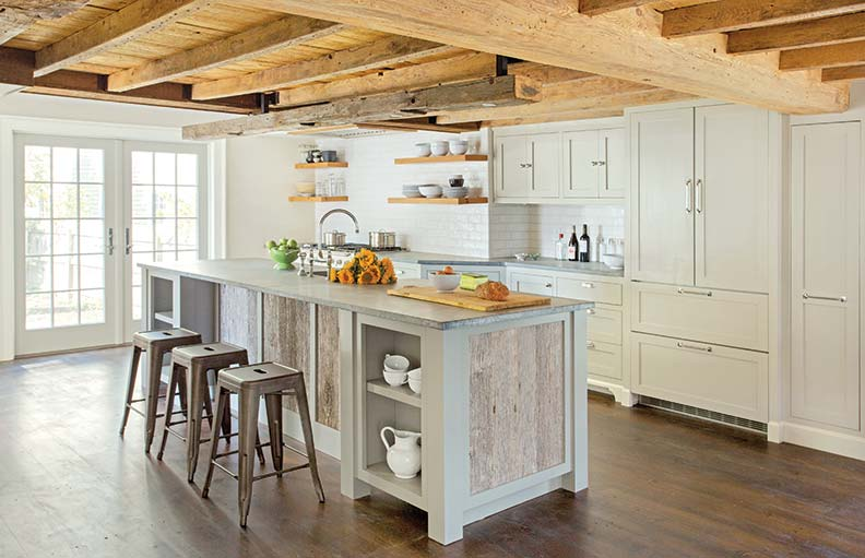 Деревенский стиль в интерьере кухни - необычный вариант. Фото 5