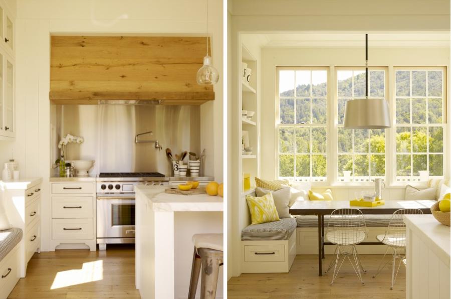 Деревенский стиль в интерьере кухни - необычный вариант. Фото 6