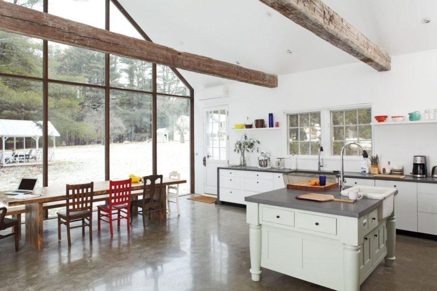 Деревенский стиль в интерьере кухни - интересный вариант. Фото 5