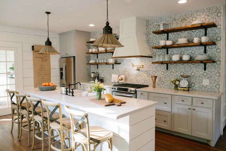 Деревенский стиль в интерьере кухни - интересный вариант. Фото 7