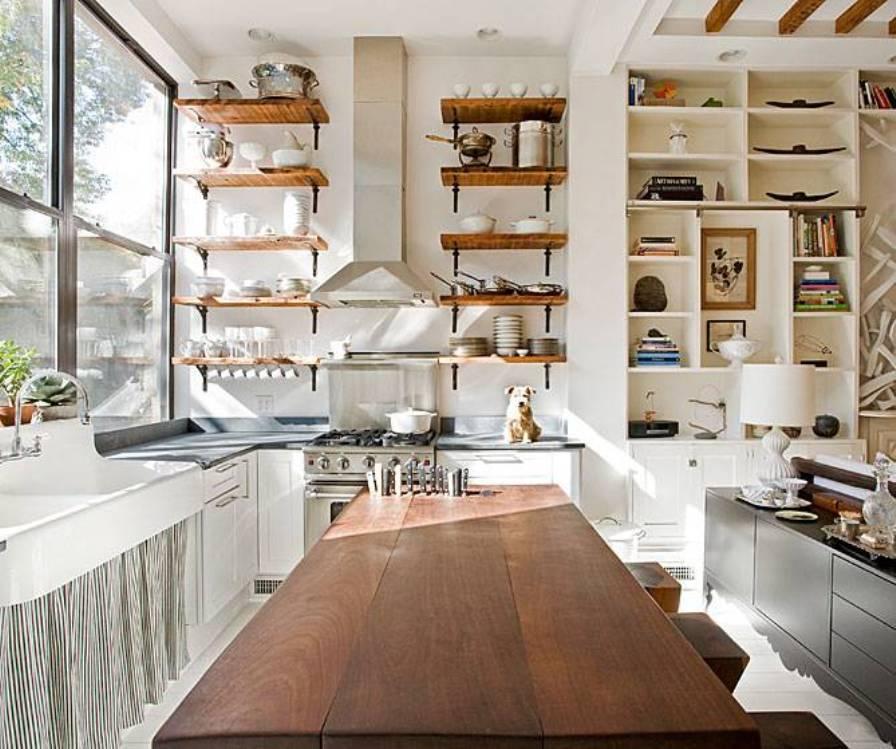 Деревенский стиль в интерьере кухни - интересный вариант. Фото 8