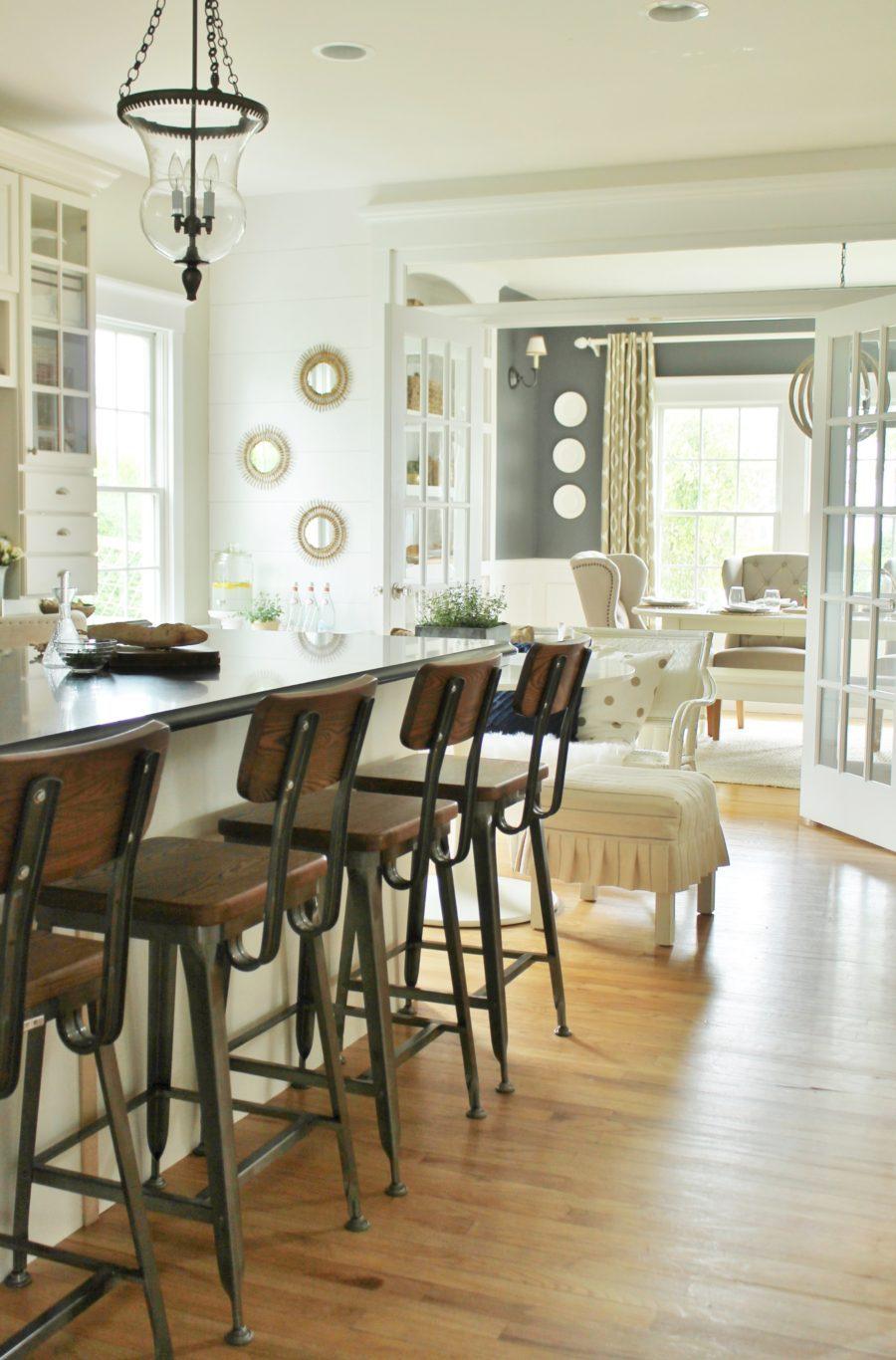 Деревенский стиль в интерьере кухни - интересный вариант. Фото 9