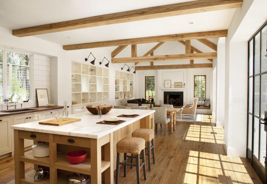 Деревенский стиль в интерьере кухни - интересный вариант. Фото 10