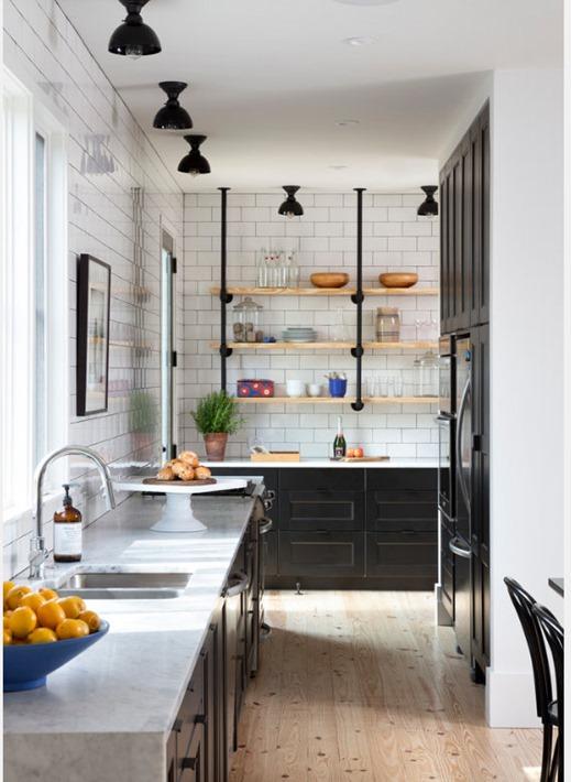 Деревенский стиль в интерьере кухни. Фото 1