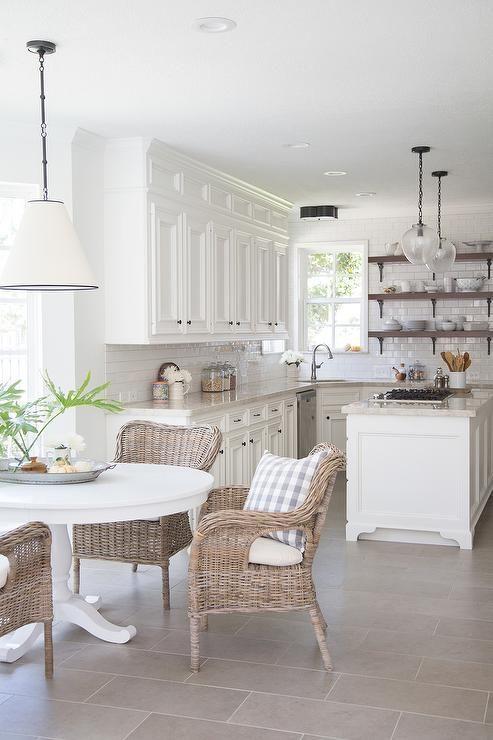 Деревенский стиль в интерьере кухни. Фото 2
