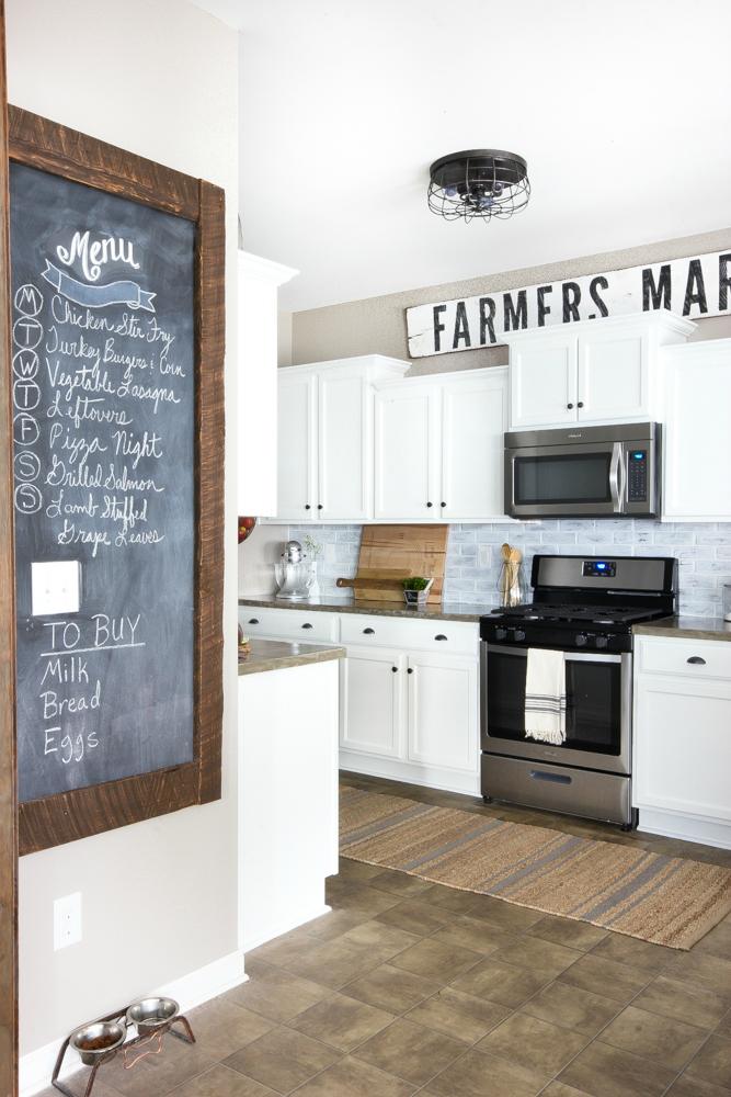 Деревенский стиль в интерьере кухни. Фото 5