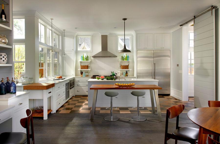 Деревенский стиль в интерьере кухни. Фото 7