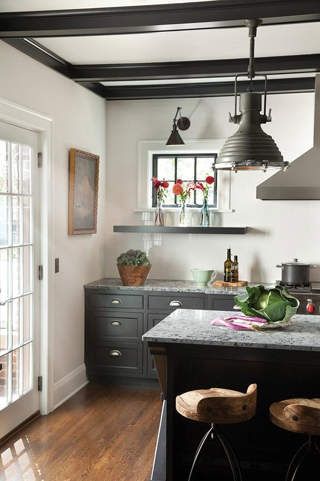 Деревенский стиль в интерьере кухни. Фото 9