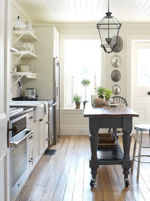 Деревенский стиль в интерьере кухни. Фото 10