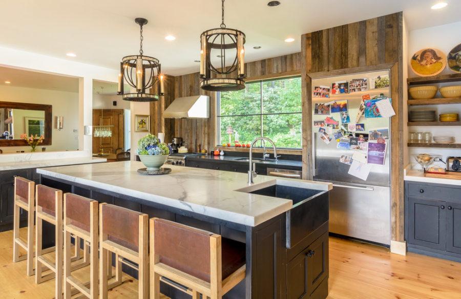Деревенский стиль в интерьере кухни. Фото 11
