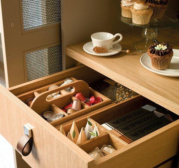 Выдвижной ящик для десертов