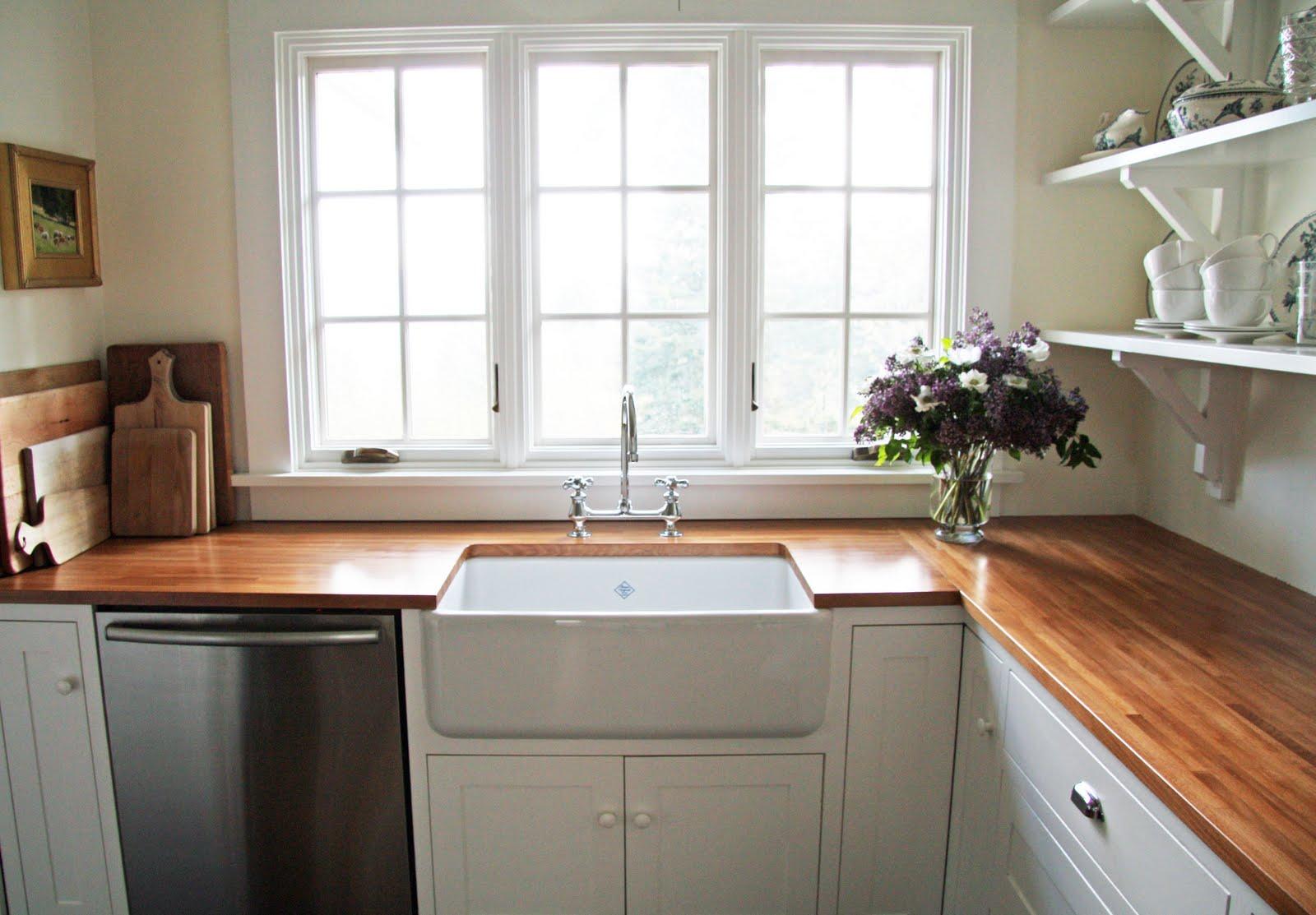 Деревянные кухонные столешницы из полированного дерева- фото 3