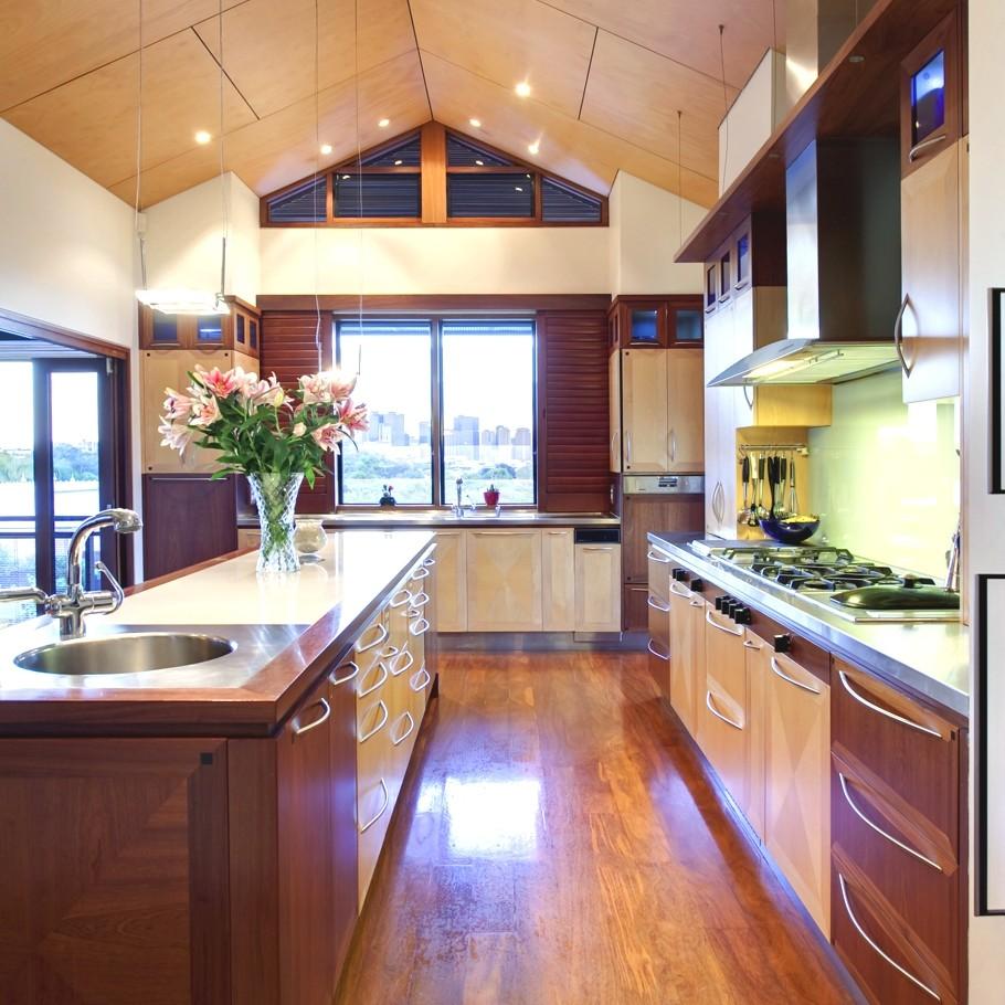 Деревянный кухонный гарнитур - Фото 4