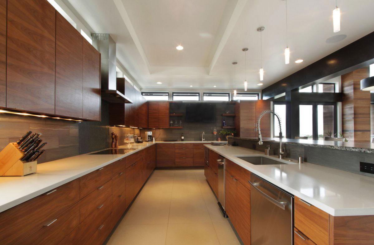Деревянный кухонный гарнитур - Фото 5