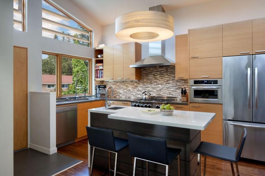Деревянный кухонный гарнитур - Фото 7