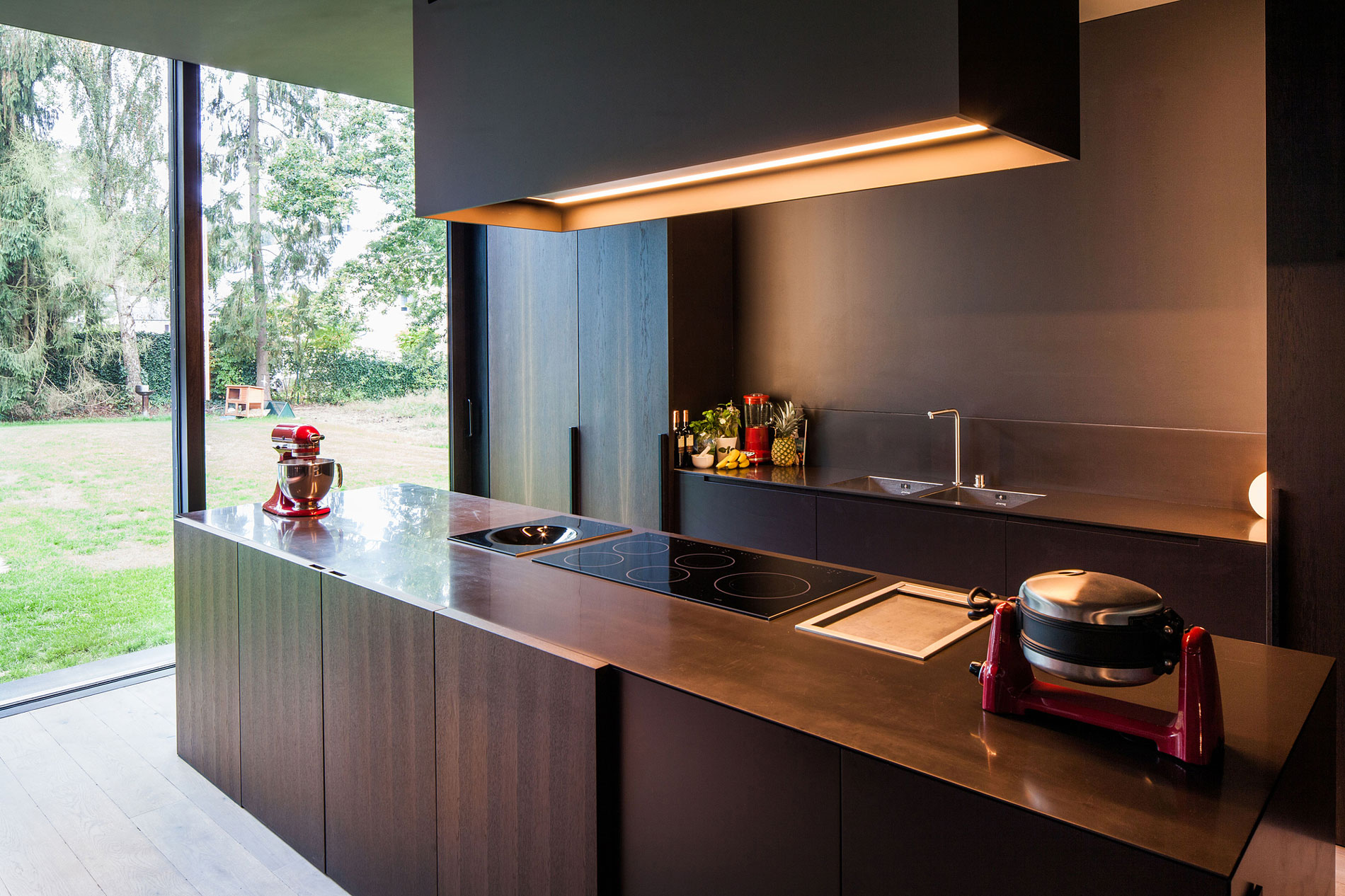 Деревянный кухонный гарнитур - Фото 16
