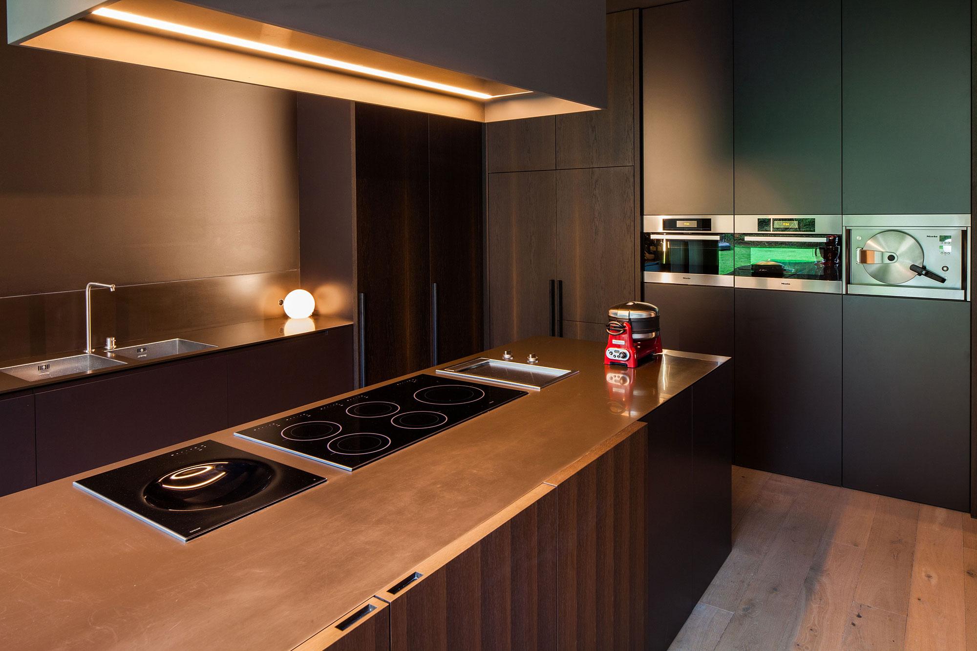 Деревянный кухонный гарнитур - Фото 17