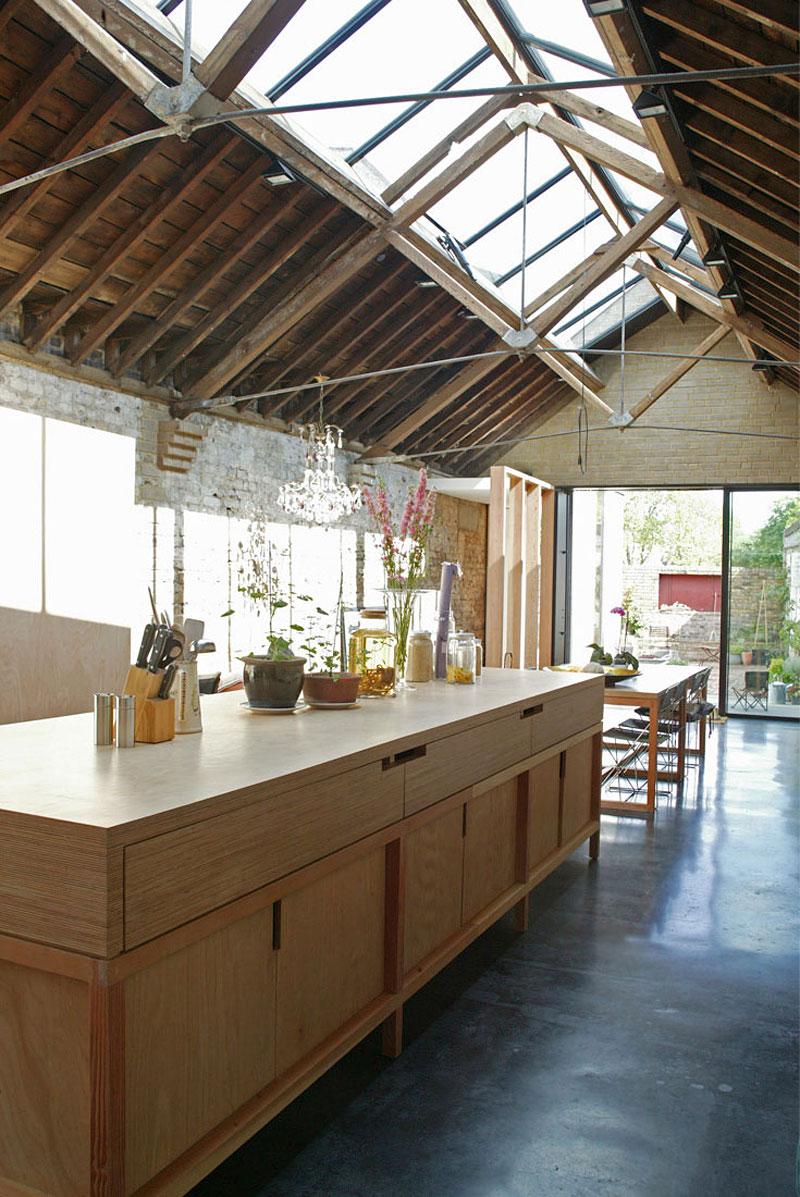 Деревянный кухонный гарнитур - Фото 19