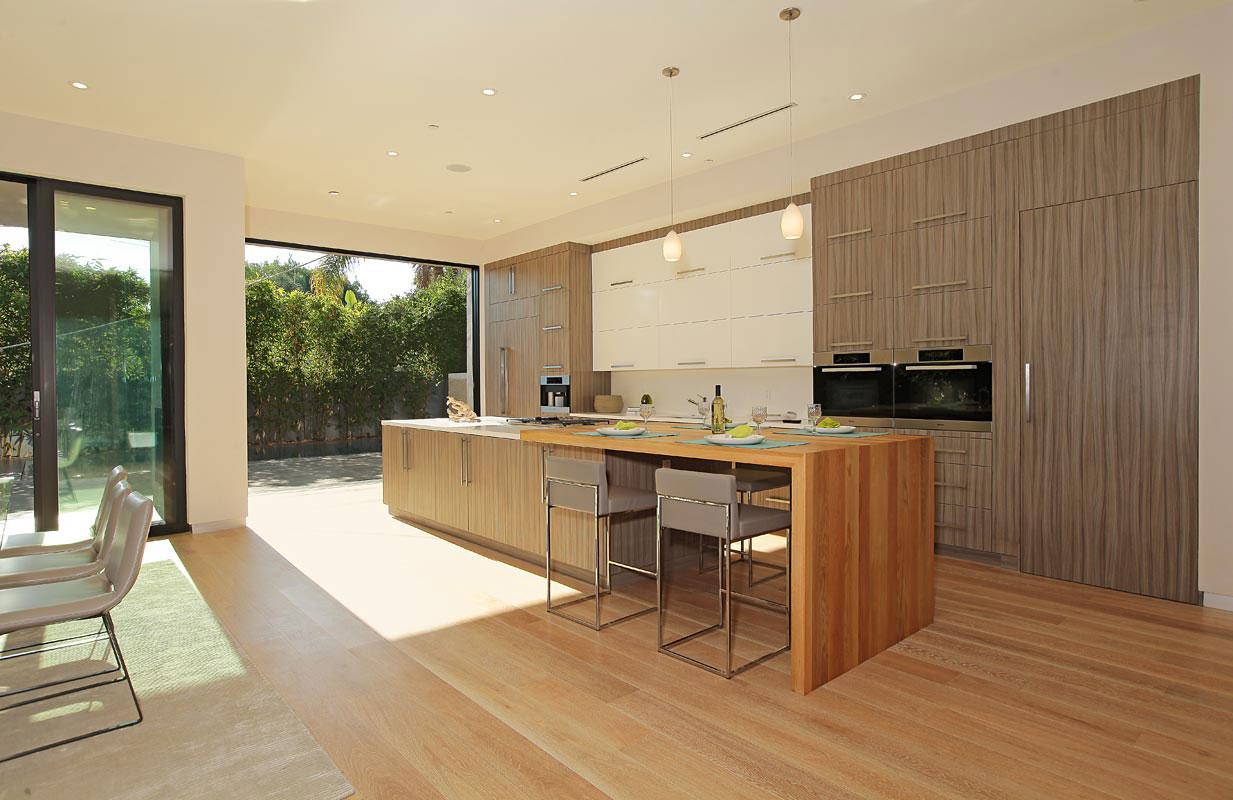 Деревянный кухонный гарнитур - Фото 21