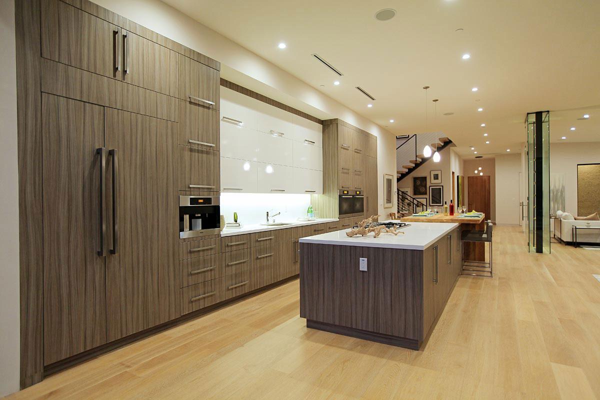 Деревянный кухонный гарнитур - Фото 22