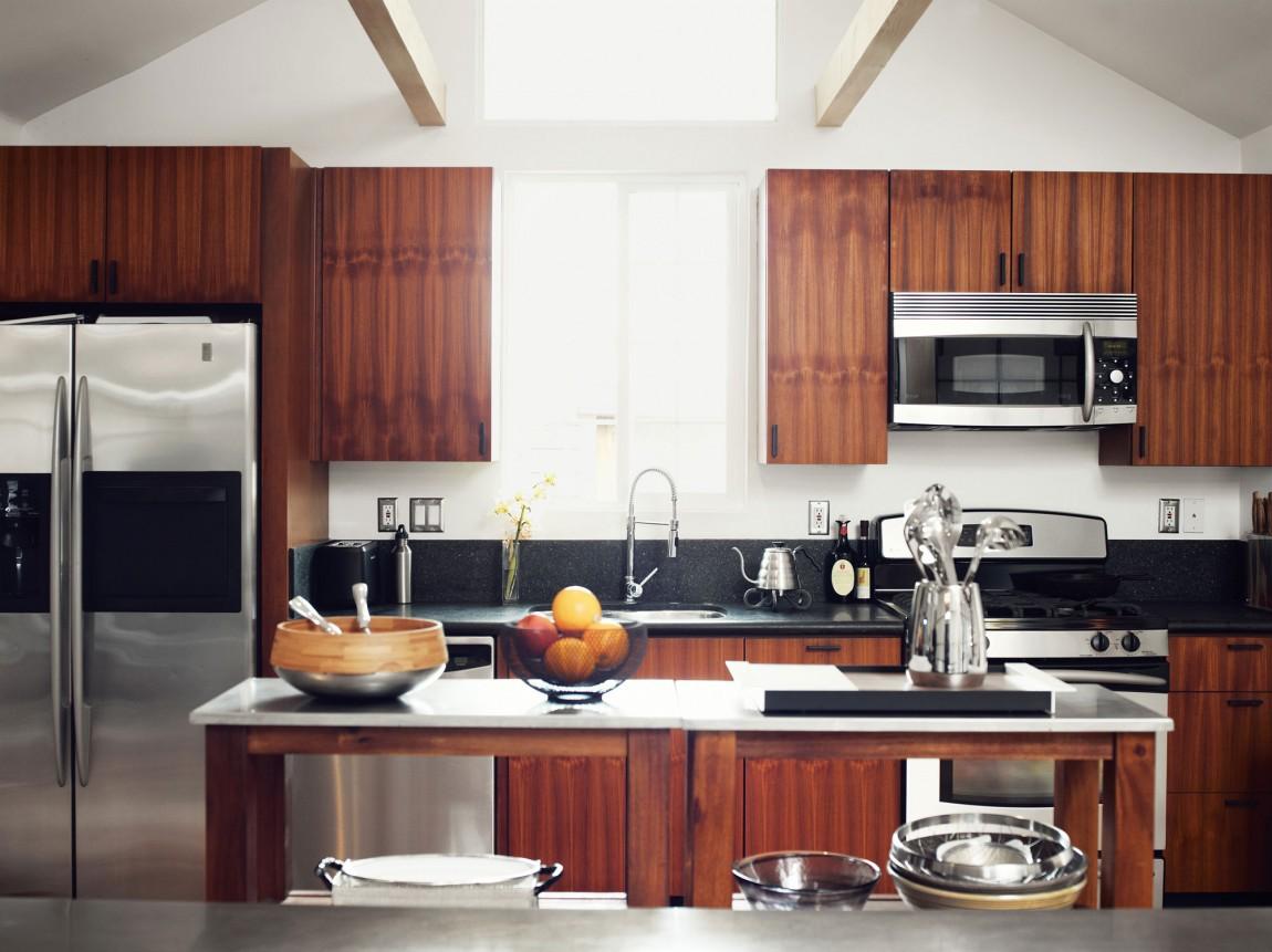 Деревянный кухонный гарнитур - Фото 23