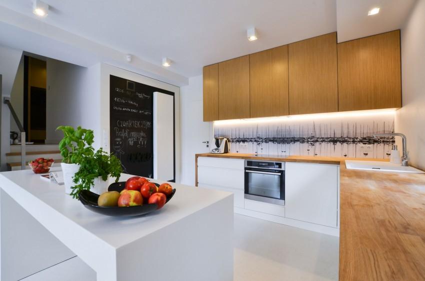 Деревянный кухонный гарнитур - Фото 24
