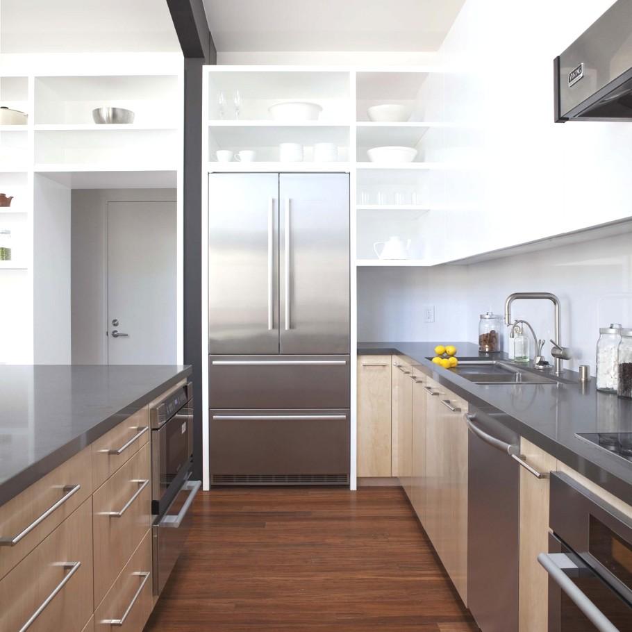 Деревянный кухонный гарнитур - Фото 26