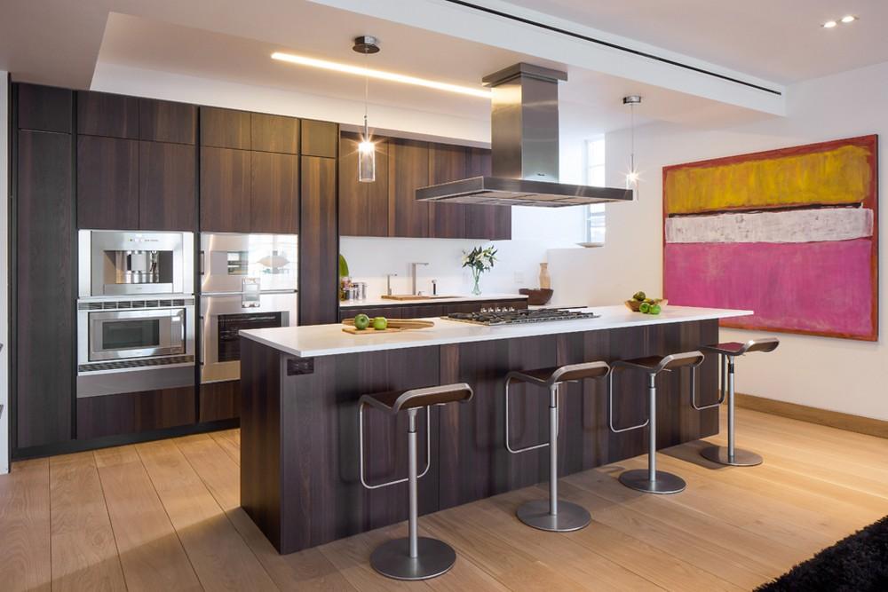 Деревянный кухонный гарнитур - Фото 28