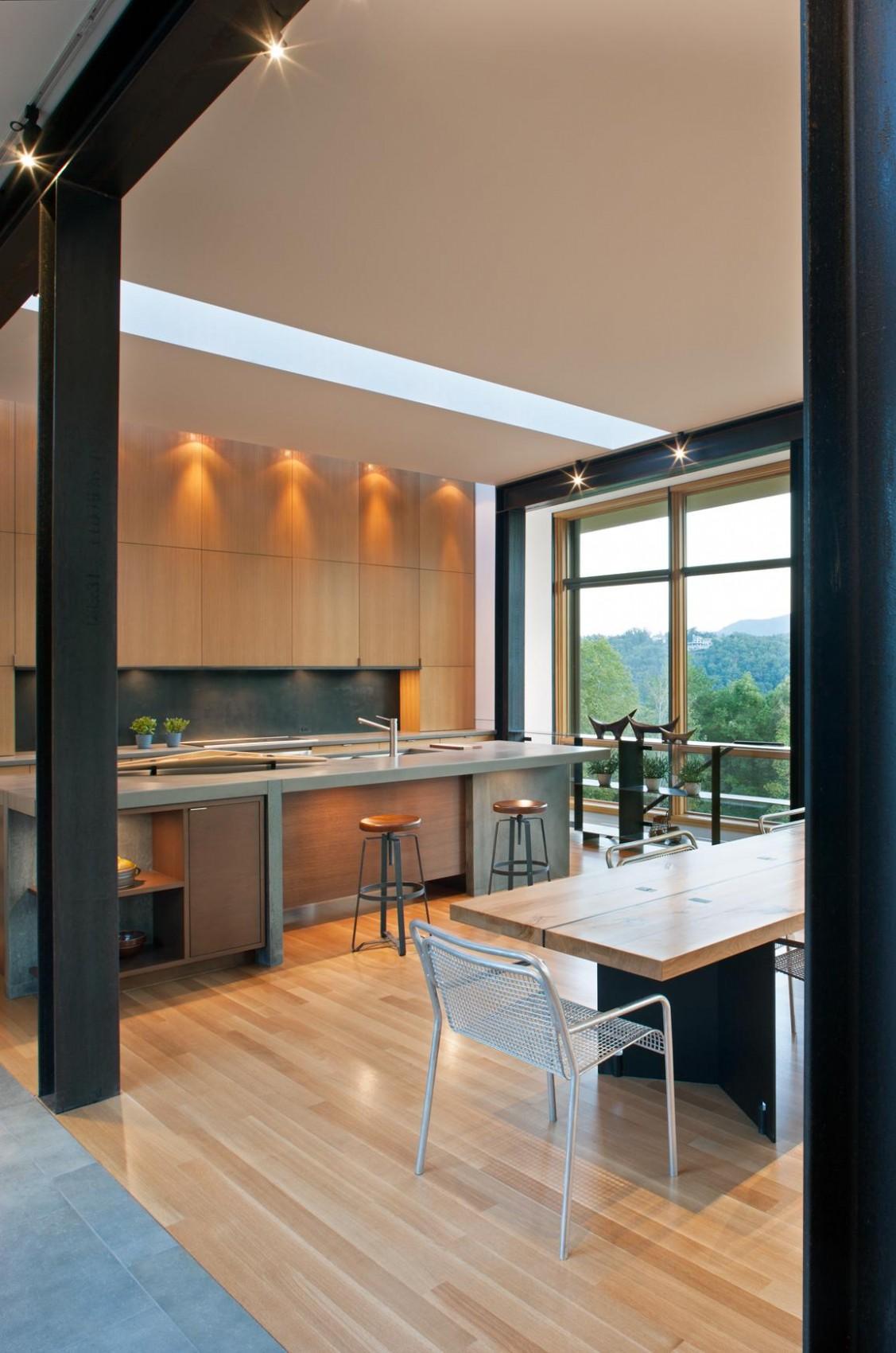 Деревянный кухонный гарнитур - Фото 29