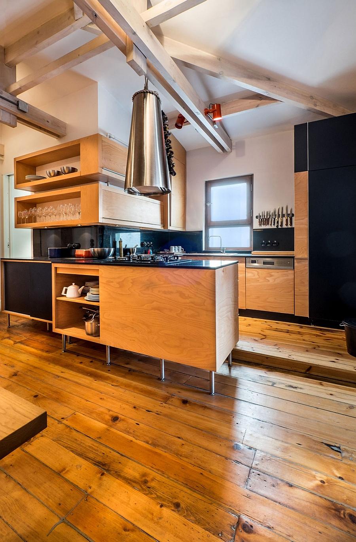 Деревянный кухонный гарнитур - Фото 30