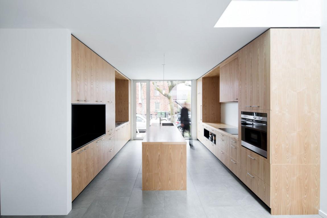Деревянный кухонный гарнитур - Фото 32