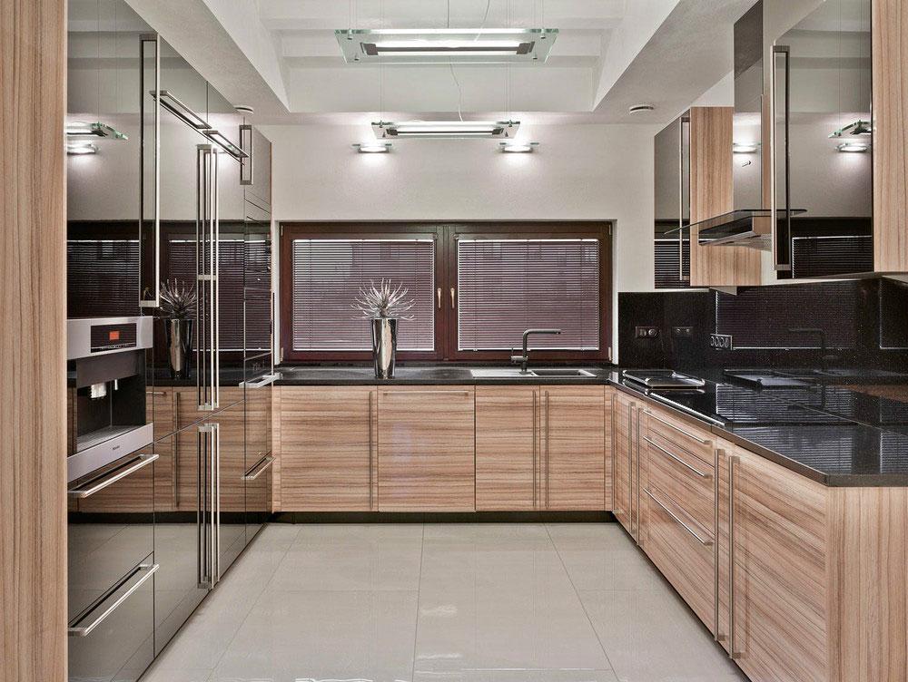 Деревянный кухонный гарнитур - Фото 34
