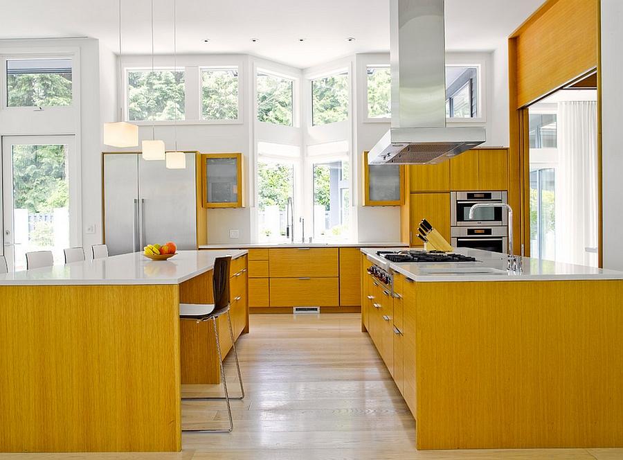 Деревянный кухонный гарнитур - Фото 37