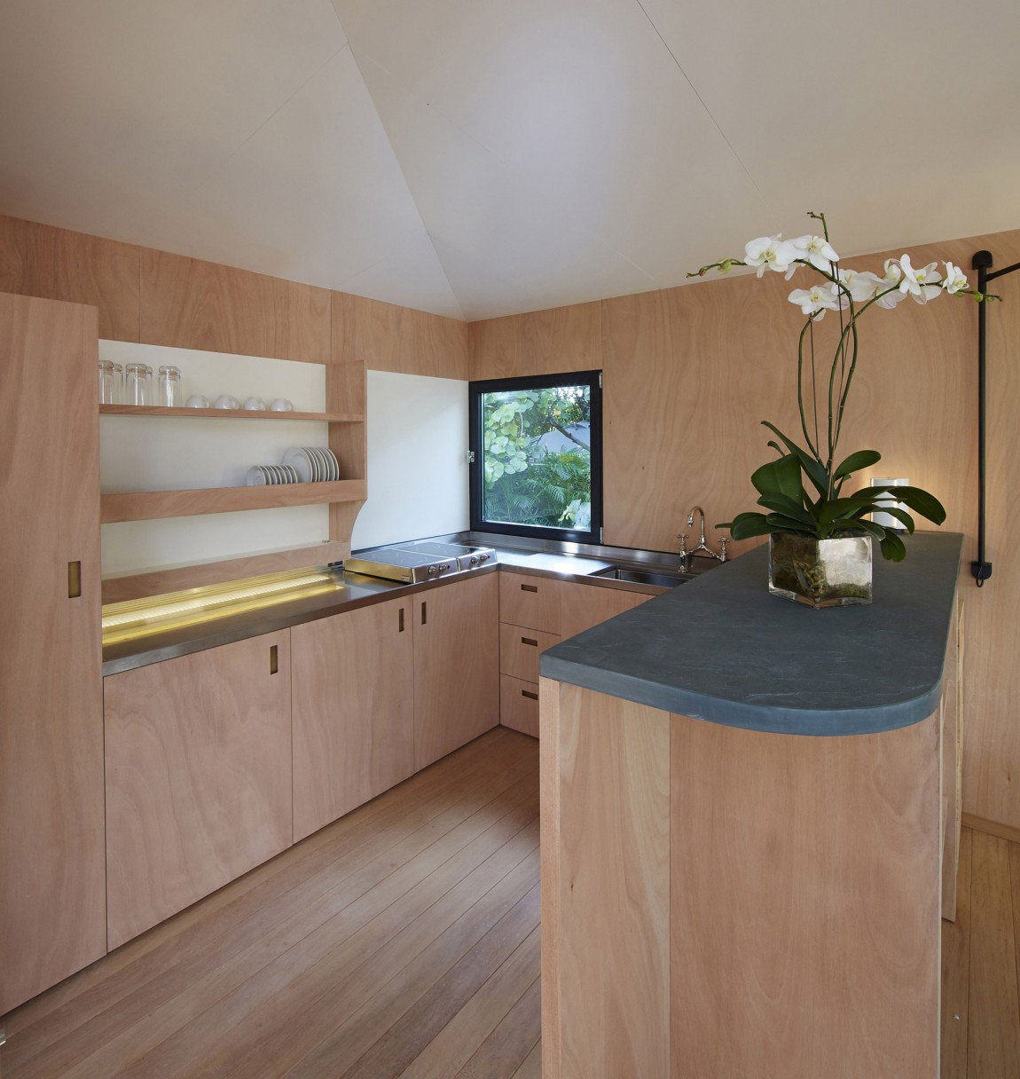Деревянный кухонный гарнитур - Фото 38