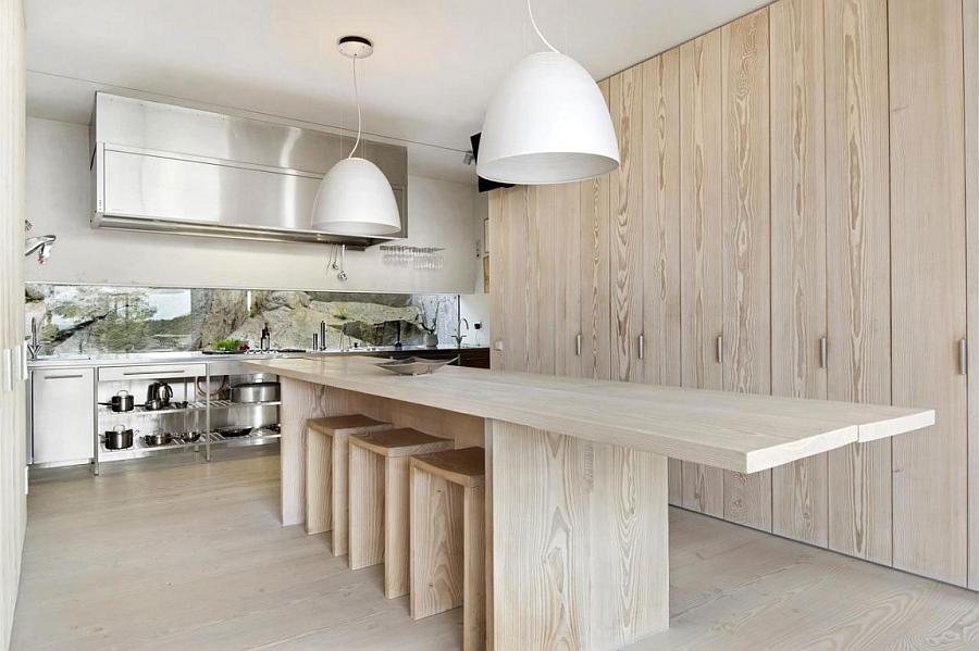 Деревянный кухонный гарнитур - Фото 39
