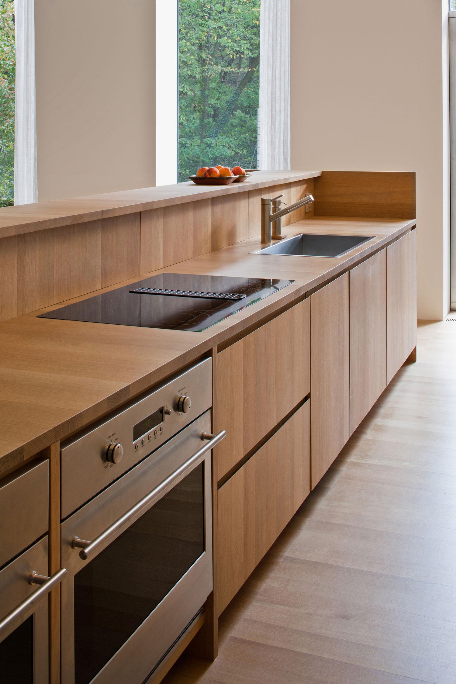 Деревянный кухонный гарнитур - Фото 43